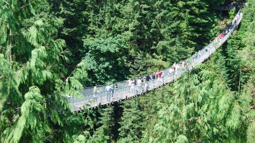 Viseći most Kapilano u Vankuveru